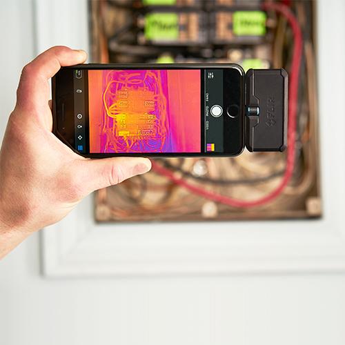 カメラ サーモグラフィ