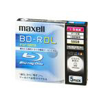 MAXELL データ用BD-R DL 50GB 6倍速 5枚入 BR50PWPC.5S