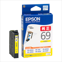 EPSON インクカートリッジ イエロー ICY69