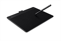 Wacom Intuos Comic medium  Black CTH-690/K1