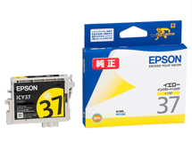 EPSON インクカートリッジ イエロー ICY37