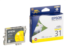 EPSON インクカートリッジ イエロー ICY31
