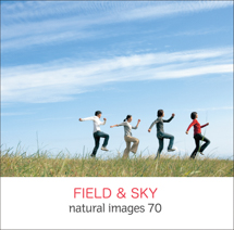 natural images 070 FIELD & SKY