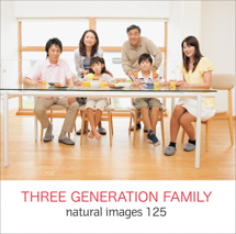natural images 125 THREE GENERARION FAMILY